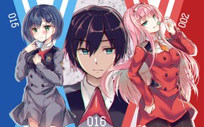 Picture Girls, Guy, Anime, Darling In The Frankxx