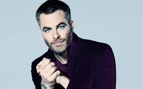Picture background, portrait, actor, photoshoot, Chris Pine, Chris Pine, 2017, SNL, Mary Ellen Matthews