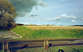 Picture Light, Halo, Nature, Clouds, Landscape, Belgium, Castle, architecture, Photography, Church, Cloud, Countryside, Weather, Brabant Wallon, …