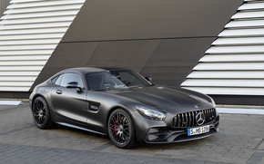Picture Mercedes, supercar, Roadster, Mercedes, AMG, C190, GT-Class