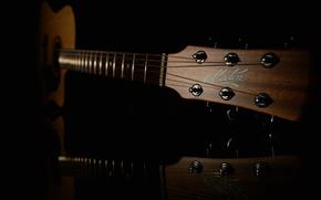 Wallpaper music, background, guitar