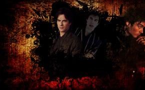 Picture guys, the vampire diaries, series, Ian somerhalder, Damon Salvatore