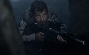 Wallpaper cinema, Star Wars, gun, weapon, movie, sniper, captain, film, rifle, taichou, Rogue One: A Star ...