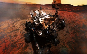 Picture cosmos, mars, plumbed, platet