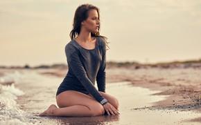 Picture drops, surf, legs, sponge, Tonny Jørgensen, Beach Girl, Ida Rebecca