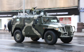 Picture Tiger, Russian, Armored car, GAZ-233014