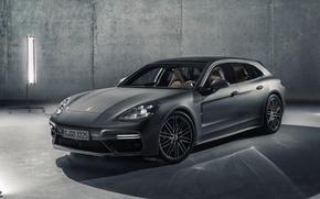 Picture car, Porsche, Porsche Panamera, Porsche Panamera Sport Turismo
