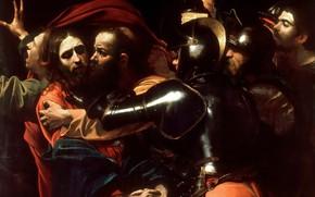 Picture picture, mythology, Detention, Michelangelo Merisi da Caravaggio