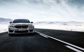 Picture sedan, front view, 2018, BMW M5, Competition