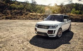 Wallpaper crossover, Range Rover, Land Rover, range Rover, Vorsteiner, land Rover