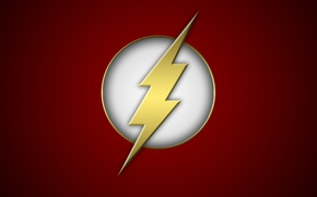 Picture wallpaper, lightning, dc comics, The Flash