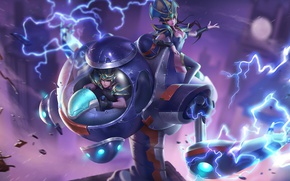 Picture fiction, robot, hon, art, Heroes of Newerth, Parallax, Ion Parallax