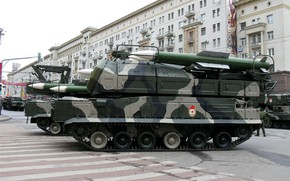 Picture Moscow, May 9, Victory Parade, the movement, Russian air defense, BUK-M1, 9K37, Air Defense Missile …
