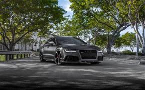 Picture Audi, VAG, RS7, Sight, Graphite, LED