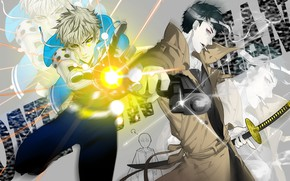 Picture anime, art, guys, cyborg, One Punch Man, Genos