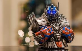 Picture macro, background, Optimus Prime, toy