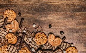 Picture background, tree, seeds, Cookies
