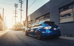 Picture Japan, Subaru Impreza WRX, Car, Street