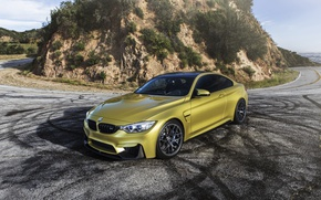 Picture BMW, Yellow, F82