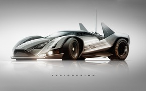 Picture Auto, Figure, Future, Machine, Car, Car, Art, Art, Rendering, Sci-Fi, Sci Fi, Yasid Design, Yasid …