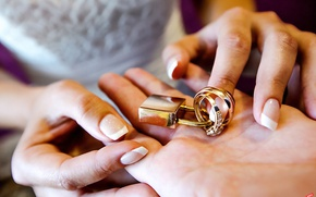 Picture love, happiness, holiday, wedding, engagement rings