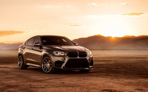 Picture nature, design, style, the front, BMW X6M
