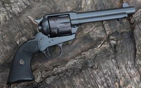Wallpaper black, trunk, revolver