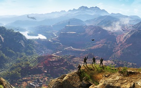 Wallpaper nature, ghost recon, mountains, bolivia, video games, ghost recon wildlands, tom clancy's ghost recon wildlands, ...
