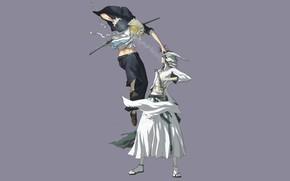 Picture anime, art, Bleach, Bleach, Ichigo, Ulquiorra