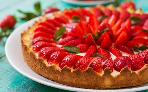 Picture berries, strawberry, pie, cakes