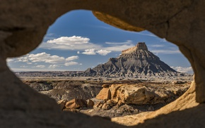 Picture Utah, USA, Utah, Wayne County, Factory Butte