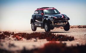 Picture Mini, Black, Sport, Speed, Race, Rally, SUV, Rally, Dune, X-Raid Team, MINI Cooper, X-Raid, X …