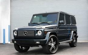Picture Mercedes, G500, V8