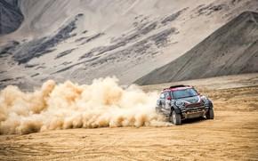 Picture Sand, Auto, Mini, Dust, Sport, Desert, Machine, Speed, Race, Rally, Dakar, Dakar, SUV, Rally, Dune, …