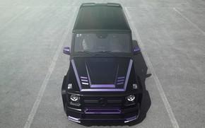 Picture Mercedes, Front, AMG, G55, Face, Brutal
