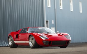 Picture Ford, red, 1966, GT40