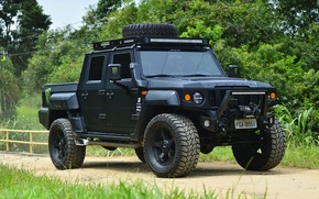 Picture made in Brazil, Agrale, military and civil vehicle, manufactured in Santa Catatarina, export type product, …