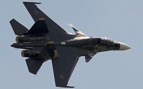 Picture fighter, flight, Su-30CM