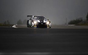 Picture overcast, track, Lexus, turn, 2017, RC F GT3