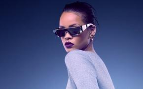 Picture girl, actress, glasses, lips, singer, rihanna, latina, dior