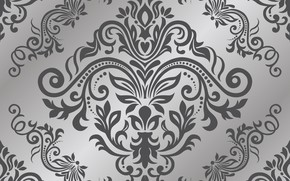 Picture grey, background, wallpaper, silver, style, background, color, seamless