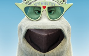 Picture USA, bear, New York, animated film, animated movie, kuma, Norm of the North