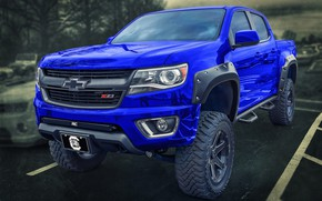 Picture Chevy, truck, Colorado Z71