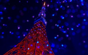 Picture background, Tokyo tower, Tokyo tower