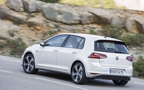 Picture road, Golf, GTI, voikswagen, VW