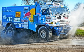 Picture Water, Grass, Sport, Speed, Race, Master, Dirt, Squirt, Russia, Crimea, Kamaz, Rally, Rally, KAMAZ, Bach, …