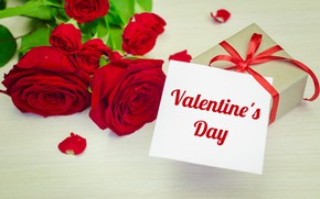 Picture love, flowers, roses, bouquet, red, red, love, wood, flowers, romantic, hearts, Valentine's Day, gift, roses