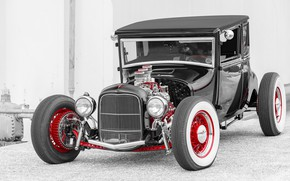Picture car, Hot Rod, Hot rod, classic American