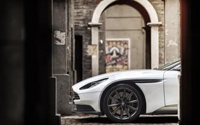 Picture car, Aston Martin, logo, Aston Martin DB11 V8