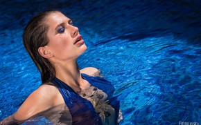 Picture water, face, pool, makeup, Oliver Photo Classic, Jenny Jessen